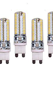 10W G9 LED Bi-pin Lights T 96 SMD 3014 700 lm Warm White / Cool White Decorative AC 220-240 V 4 pcs