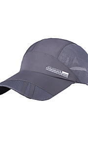 Chapeau Unisexe Résistance aux UV / Respirable Head Exercice & Fitness / Baseball / Golf Incarnadin / Gris foncé / Bleu / Bleu FoncéTissu
