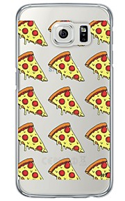 Pizzas Pattern Soft Ultra-thin TPU Back Cover For Samsung GalaxyS7 edge/S7/S6 edge/S6 edge plus/S6/S5/S4