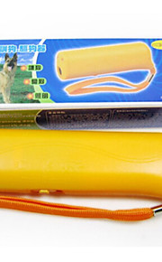 כלב אימון אלקטרוני נייד CD- 100 פלסטיק צהוב