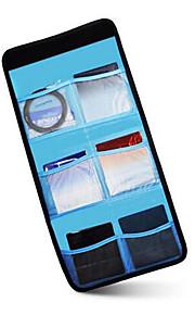 Bolsa-Azul-Prova-de-Água-Um Ombro-Universal-Câmara Digital