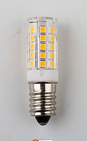 10W E14 LED-kornpærer T 33 SMD 2835 450 lm Varm hvit / Naturlig hvit Dekorativ AC 220-240 V 1 stk.