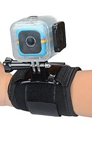 KingMa Camera Waterproof Case Hosing for Polaroid Cube Cube+ and Universal 360-degree Rotation Wrist