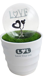 krukväxter kärlek ledde nattlampa