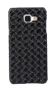zurück Stoßfest / Ultra dünn Einheitliche Farbe PU - Leder Hart Ultra-thin   Shockproof Fall-Abdeckung für Samsung GalaxyA7(2016) /