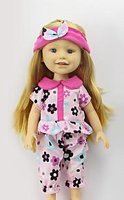 sharon sæt af 16-tommer dukke tøj prinsesse kjole hat modetøj tilbehør tre farver-fri baby-