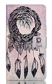 Full Body Wallet / Card Holder / with Stand / Flip Dream Catcher PU Leather Soft Case Cover For HuaweiHuawei P9 / Huawei P9 Lite / Huawei