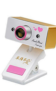 usb 2.0 webcam 0,8 M CMOS 1024x768 30fps guld