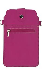 Cuerpo Completo billetera / Soporte de Tarjeta Color Sólido Cuero Sintético Suave Cubierta del caso para NokiaNokia Lumia 950XL / Nokia