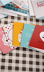 Korean Version Of The Cartoon Creative Valentine'S Day Greeting Cards Blessings Palm Cards With Envelopes 168
