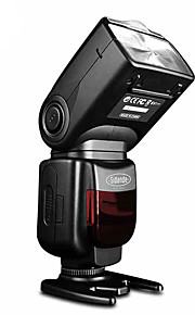 sidande® df-550 speedlight câmera SLR externa speedlight lâmpada de flash superior para Canon / Nikon / Pentax / Fujifilm / samsung