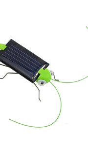 Dejlig Mini Solar Energy Powered Child Kid Toy Locust Solar Grasshopper Insect Bug