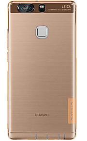 Skal Stötsäker / Ultratunn / Bisque Solid Färg TPU Mjuk Fallet täcker för Huaweihuawei P9 / Huawei P9 Lite / Huawei P9 Plus / Huawei Mate