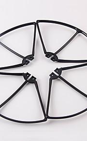 SYMA X8C / X8W SYMA X8C/X8W Propeller Guards RC quadrokopter / Droner / RC Helikoptere Sort / Hvid / Orange Plastik 1 Stykke