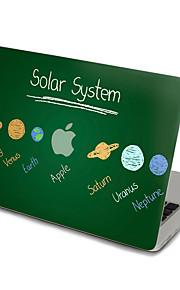 1 Stück Kratzfest Transparenter Kunststoff Gehäuse Aufkleber Ultra dünn / Matt / Muster FürMacBook Pro 15 '' mit Retina / MacBook Pro 15