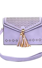 Pouch billetera / Soporte de Tarjeta / Dar la vuelta / Diseño Flor Cuero Sintético Suave Neck Strap Bag Case Cubierta del caso para Apple