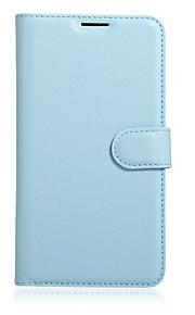 Hel kropp plånbok / Korthållare / med stativ / Flip Solid Färg PU-läder Mjuk Fallet täcker för Other Other