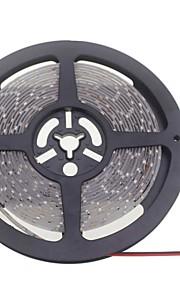 SENCART 5 M 600 3528 SMD לבן חמים / לבן חסין למים / ניתן לחיתוך / ניתן להרכבה / מתאים לרכבים / נדבק לבד W סרטי תאורת LED גמישים DC12 V