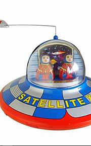 Игрушка новизны / Логические игрушки / Игрушка с заводом Игрушка новизны / / Круглый / Космический корабль Металл Коричневый Для детей