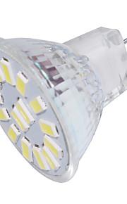 4 GU4(MR11) LED-spotpærer MR11 15 SMD 5733 350 lm Varm hvit / Kjølig hvit Dekorativ 9-30 V 1 stk.