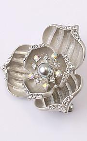 europæiske og amerikanske mode zircon perle broche serie 021