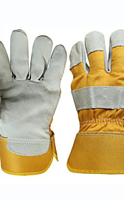 Special Labor Protection Welder Leather Gloves Anti-scalding(One Size)