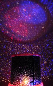 צבע-שינוי כוכב יופי מנורת לילה מקרן כוכבים בשמים