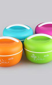 yeeyoo marca bpa microondas libre de los niños seguros elegantes cajas de almuerzo con compartimientos