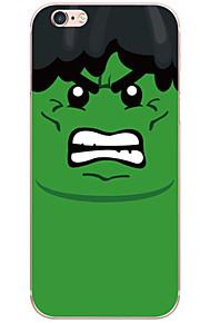 Funda Trasera A Prueba de Golpes / A Prueba de Polvo / Transparentes / Diseño Caricaturas PC Duro Cubierta del caso para AppleiPhone 6s