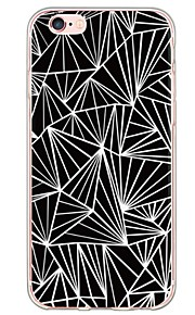 Skal Ultratunn / Genomskinlig geometriska mönster TPU Mjuk Fallet täcker för Apple iPhone 6s Plus/6 Plus / iPhone 6s/6 / iPhone SE/5s/5