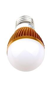3 E26/E27 Круглые LED лампы A60(A19) 3 Высокомощный LED 270 lm Тёплый белый / Естественный белый Декоративная AC 85-265 V 1 шт.