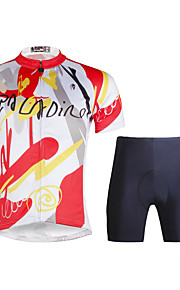 Breathable Paladin Summer Male Short Sleeve Cycling Jerseys Suit 100% Polyester DT680 The Draw Picture