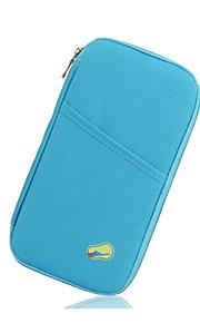 Travel Porta Documentos Acessório de Bagagem Tecido Azul / Pêssego / Rose KUSHUN ™ / BirdRoom®