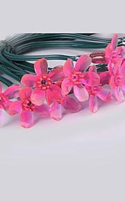 5м 20 водить розовые цветы вишни струнные светильники