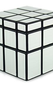 Shengshou® Let Glidende Speedcube 3*3*3 Alien Spejl Professionelt niveau Minsker stress Magiske terninger Pink Grøn Plastik