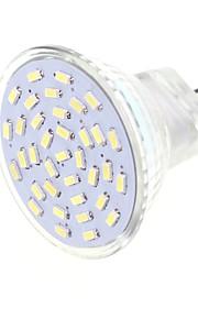 4 G4 / GU4(MR11) LED-spotpærer MR11 36 SMD 3014 600 lm Varm hvit / Kjølig hvit Dekorativ AC 12 / DC 12 V 1 stk.