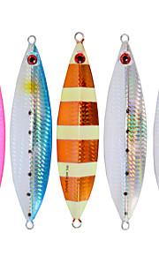2pcs/lot Afishlure Metal Plate Lead Jig 40g Jigging Spoon Sea Baits Fishing Lure Sea Fishing Boat Fishing