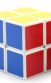 Shengshou® Glat Speed Cube 2*2*2 Professionel Level stress relievers / Magiske terninger / puslespil legetøj Sort Fade / Ivory Plastik