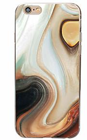 Bakdeksel Mønster Isopor TPU Myk Tilfelle dekke for Apple iPhone 6s Plus/6 Plus / iPhone 6s/6 / iPhone SE/5s/5