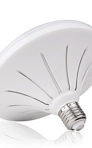 12 E26/E27 Lâmpada Redonda LED R80 24 SMD 5730 960LM lm Branco Quente / Branco Frio Decorativa / Impermeável AC 220-240 V 1 pç