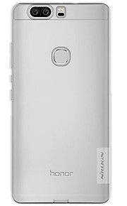 Skal Stötsäker / Ultratunn / Bisque Solid Färg TPU Mjuk Fallet täcker för Huaweihuawei P9 / Huawei P9 Lite / Huawei P9 Plus / Huawei
