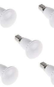5W E14 Lâmpada Redonda LED R39 12 SMD 2835 500LM lm Branco Quente / Branco Frio Decorativa AC 220-240 V 5 pçs