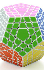 Shengshou® Glat Speed Cube MegaMinx Professionel Level Minsker stress / Magiske terninger Sort Fade / Ivory Plastik