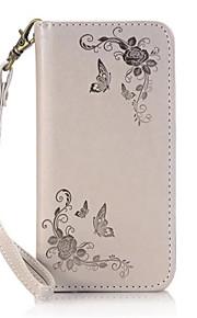 Per Porta-carte di credito / Con supporto / Con chiusura magnetica Custodia Integrale Custodia Fiore decorativo Resistente Similpelle Sony