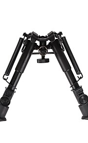 6-Inch to 9-Inch Adjustable Handy Spring Return Sniper Hunting Tactical Rifle Bipod