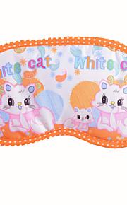 cartoon cor gelo compressa compressa quente máscara de banda desenhada do olho