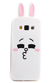 Rabbit Plane Pattern Phone Shell Silicone Material For Samsung Galaxy A5 A8 A7