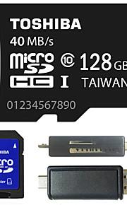 Toshiba 4gb clase / 8gb / 64gb / 128gb tarjeta de memoria micro sd tf 10 con adaptador SD y de múltiples funciones del lector de tarjetas
