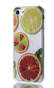 cassa del telefono TPU trasparente modello limone filo filo materiale da disegno per iPhone 7 6S 6 Plus