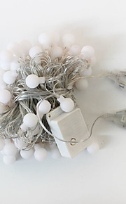 1st 10m 50led sträng ljus för julfest bröllop ledde julbelysning